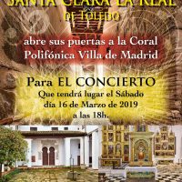 Cartel Toledo 16-03-2019